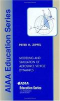Cover image for Modeling and simulation of aerospace vehicle dynamics