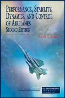 Cover image for Performance, stability, dynamics, and control of airplanes