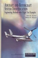 Cover image for Aircraft and rotorcraft system identification : engineering methods with flight-test examples
