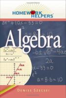 Cover image for Homework helpers. Algebra