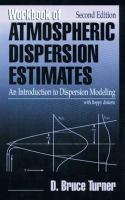 Cover image for Workbook of atmospheric dispersion estimates : an introduction to dispersion modeling