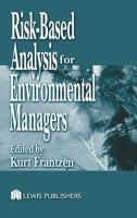 Cover image for Risk-based analysis for environmental managers