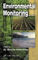 Cover image for Environmental monitoring