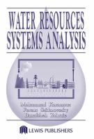 Cover image for Water resources systems analysis