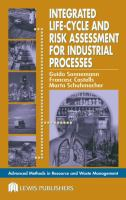 Cover image for Integrated life-cycle and risk assessment for industrial processes