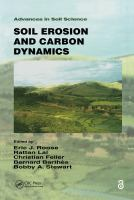 Cover image for Soil erosion and carbon dynamics