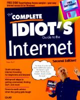 Cover image for The complete idiot's guide to the internet