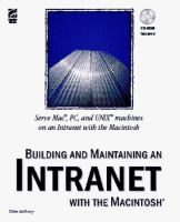 Cover image for Building and maintaining an intranet with the macintosh