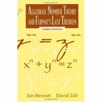 Cover image for Algebraic number theory and Fermat's last theorem