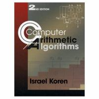 Cover image for Computer arithmetic algorithms