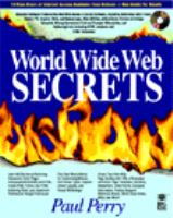 Cover image for World Wide Web secrets