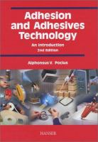 Cover image for Adhesion and adhesives technology : an introduction