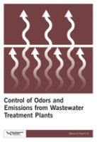 Cover image for Control of odors and emissions from wastewater treatment plants