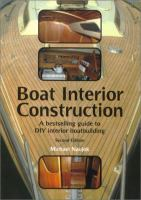 Cover image for Boat interior construction : a bestselling guide to DIY interior boatbuilding