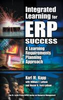 Cover image for Integrated learning for ERP success :  a learning requirements planning approach