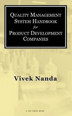 Cover image for Quality management system handbook for product development companies