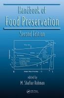 Cover image for Handbook of food preservation
