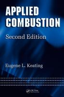Cover image for Applied Combustion