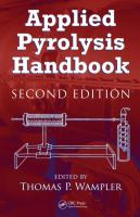 Cover image for Applied pyrolysis handbook