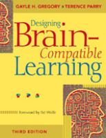 Cover image for Designing brain-compatible learning