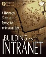 Cover image for Building an intranet