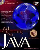 Cover image for Web programming with Java