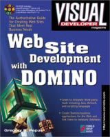 Cover image for Web site development with Domino