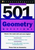 Cover image for 501 geometry questions