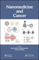 Cover image for Nanomedicine and cancer