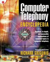 Cover image for Computer telephony encyclopedia