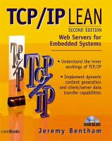 Cover image for TCP/IP lean : Web servers for embedded systems