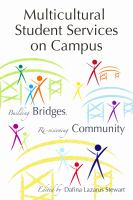 Cover image for Multicultural Student Services on Campus : Building Bridges, Re-visioning Community