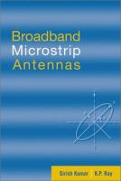 Cover image for Broadband microstrip antennas
