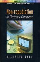 Cover image for Non-repudiation in electronic commerce