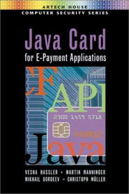 Cover image for Java card for e-payment applications