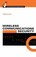 Cover image for Wireless communications security