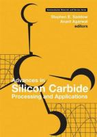 Cover image for Advances in silicon carbide processing and applications