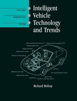 Cover image for Intelligent vehicle technology and trends