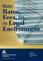 Cover image for Water rates, fees, and the legal environment