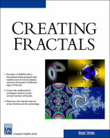 Cover image for Creating fractals