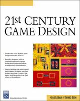 Cover image for 21st century game design