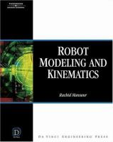Cover image for Robot modeling and kinematics