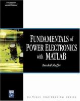 Cover image for Fundamentals of power electronics with MATLAB
