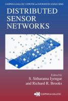 Cover image for Distributed sensor networks