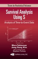 Cover image for Survival analysis using s: analysis of time-to-event data