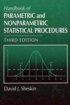 Cover image for Handbook of parametric and nonparametric statistical procedures