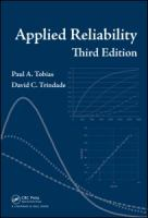 Cover image for Applied reliability