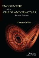 Cover image for Encounters with chaos and fractals