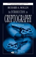 Cover image for An introduction to cryptography