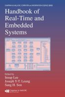 Cover image for Handbook of real-time and embedded systems